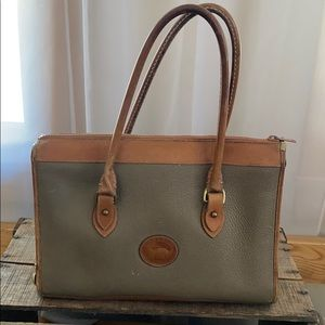 Dooney and Bourke Zip top Leather bag GUC